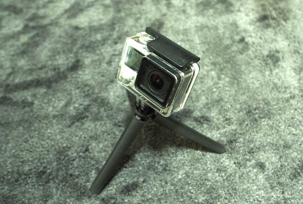 【Ventlax】 GoPro hero5 hero6 対応 3Way