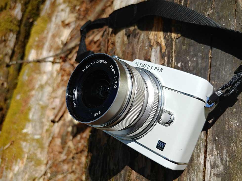 登山で使っているレンズはOLYMPUS 単焦点レンズ M.ZUIKO DIGITAL ED 12mm F2.0