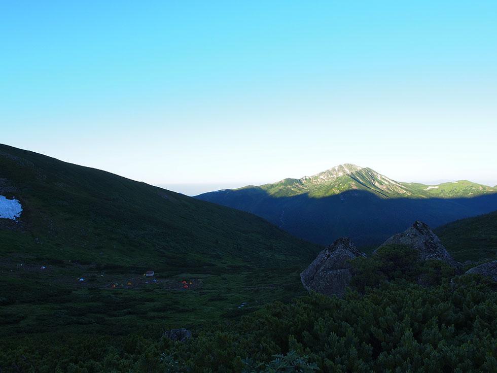 雲ノ平キャンプ場
