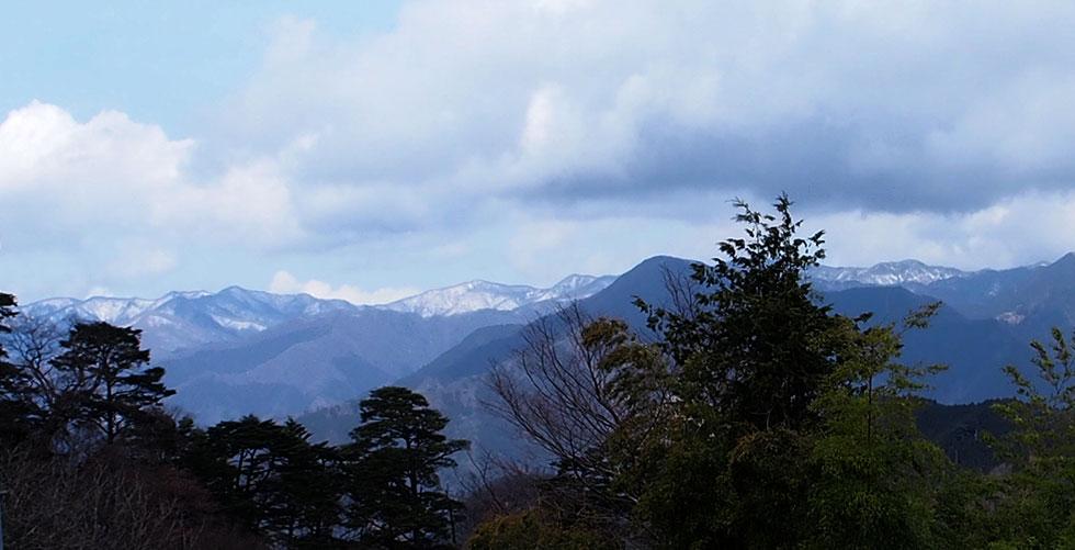 御岳山~日の出山登山