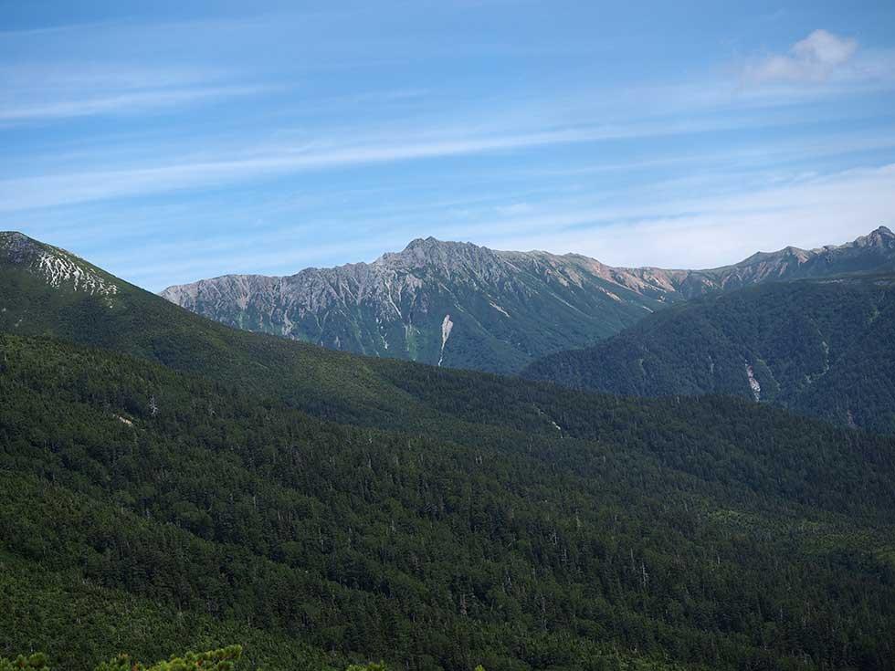 太郎兵衛平から見る水晶岳
