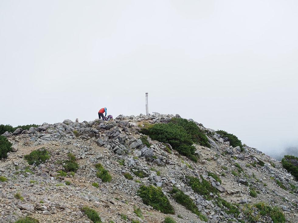 三俣蓮華岳山頂