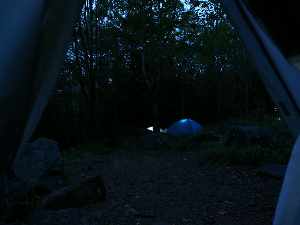 北八ヶ岳 駒の池テント泊