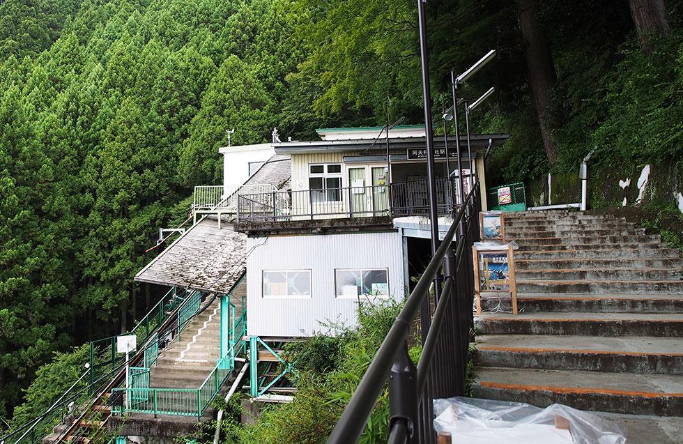 大山阿夫利神社駅 ケーブルカー