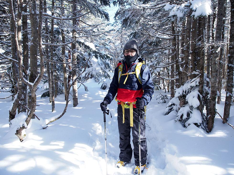 雪山の服装