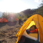 登山用テントの張り方・設置方法を説明する