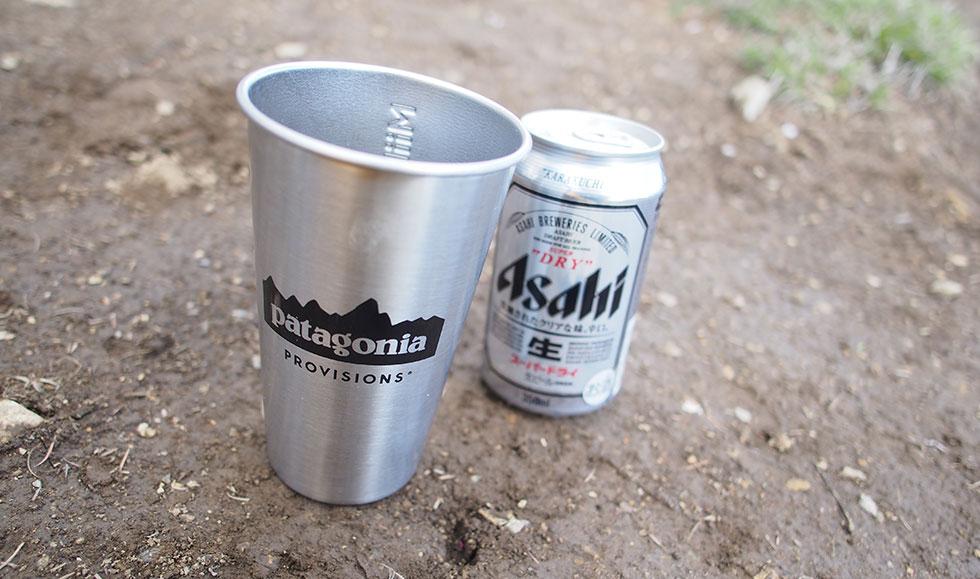 登山とビール