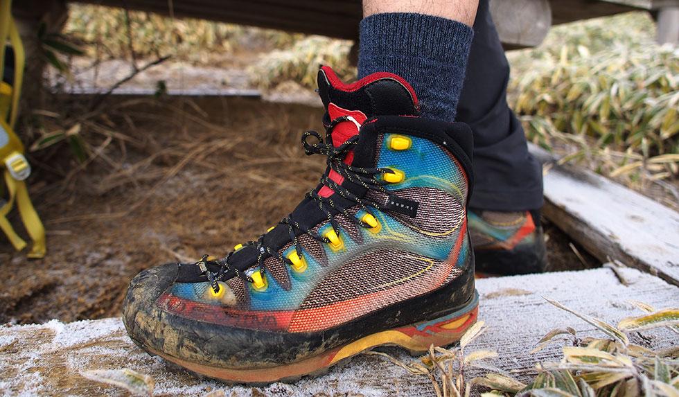 ハイカット縦走用登山靴