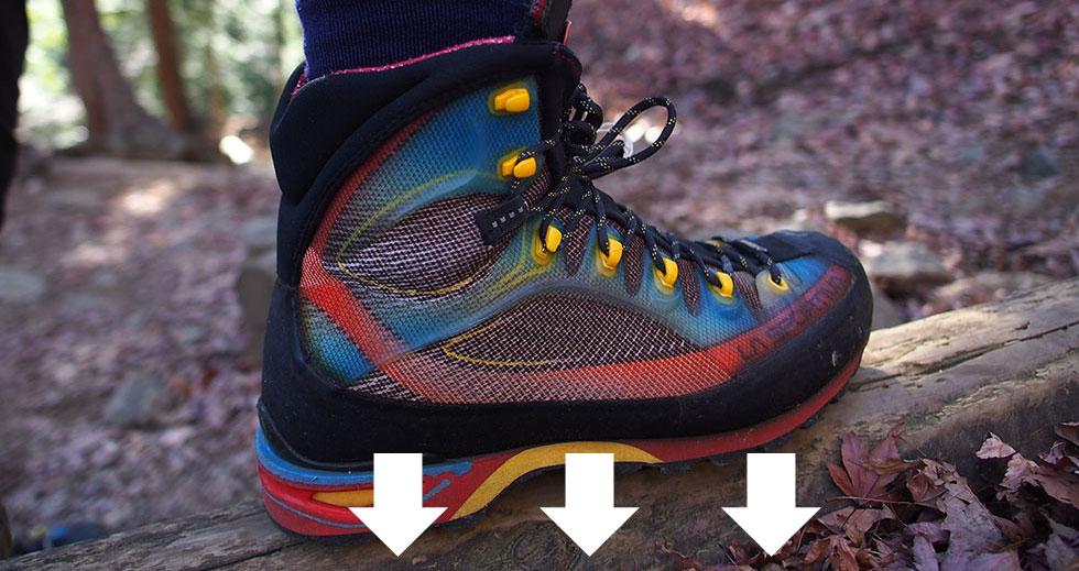 テント泊用の縦走登山靴の選び方