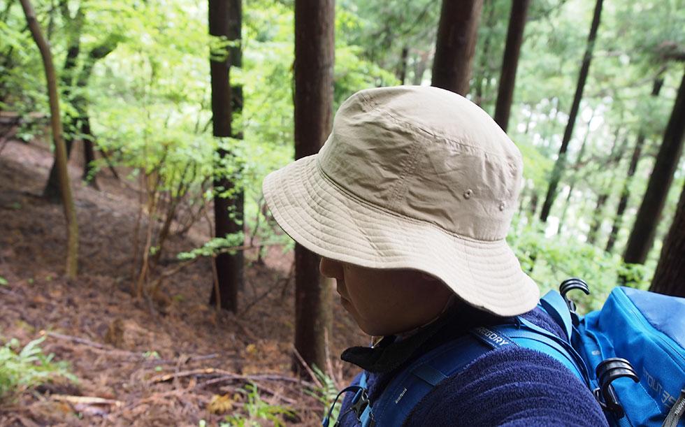 登山の帽子の選び方 ハット