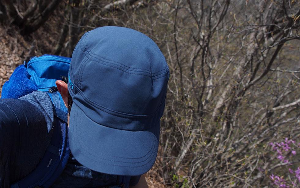 登山の帽子の選び方 キャップ