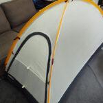 登山テント泊の家での練習方法を説明する