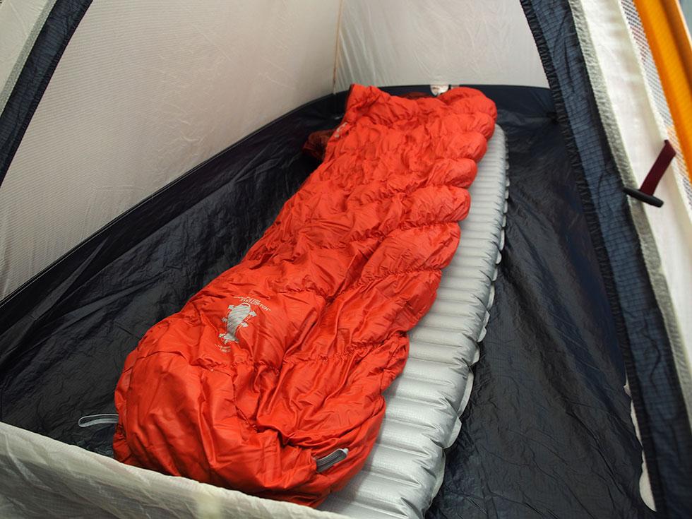 テント泊の練習方法を説明する