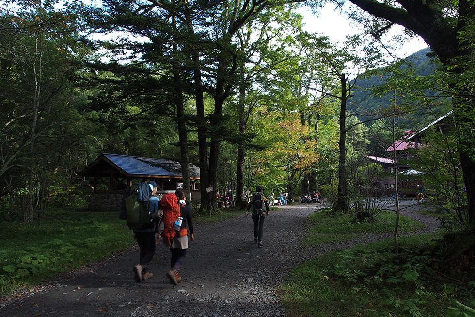 登山のテント泊