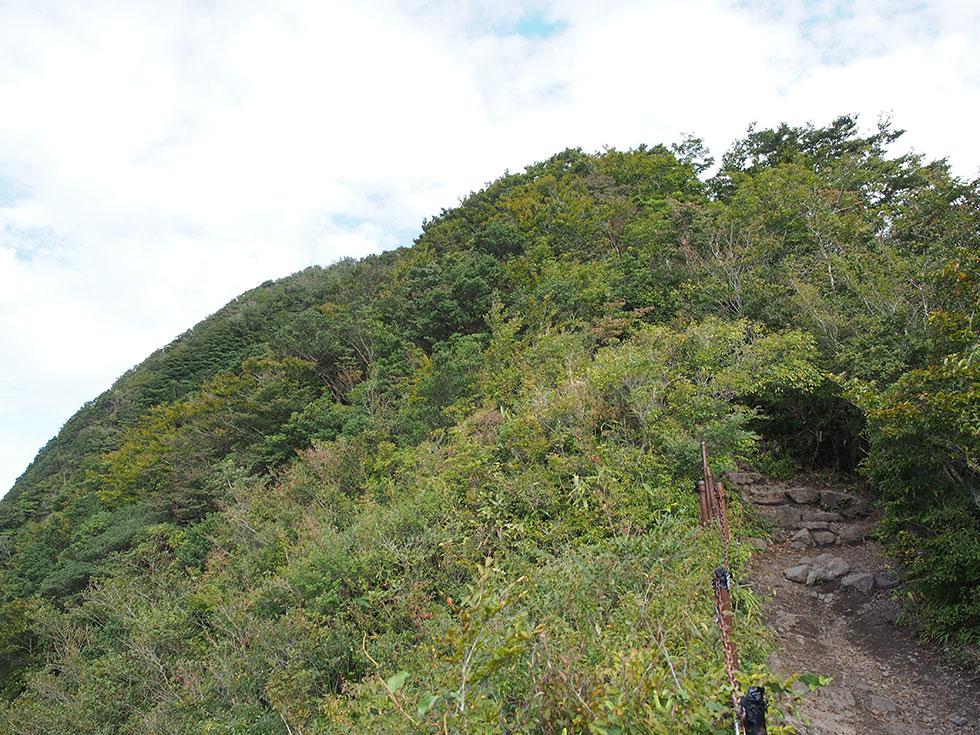 金時山で登山