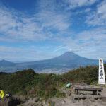 箱根の金時山に矢倉沢峠から登って富士山を見てきた